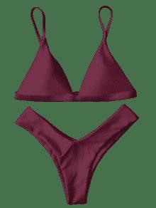 2b32d48a38629 26% OFF   HOT  2019 Soft Pad Spaghetti Straps Thong Bikini Set In ...