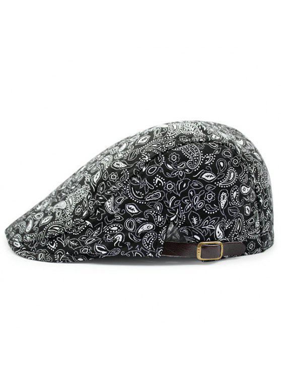 Sombrero De Newsboy Del Modelo De Paisley Del V Negro: | ZAFUL