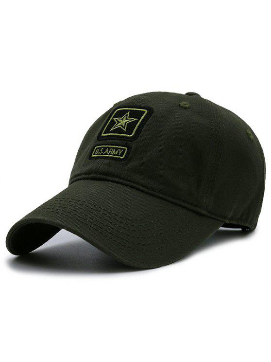 Elemento do Pentagram do exército Chapéu de basebol Embellished - Verde