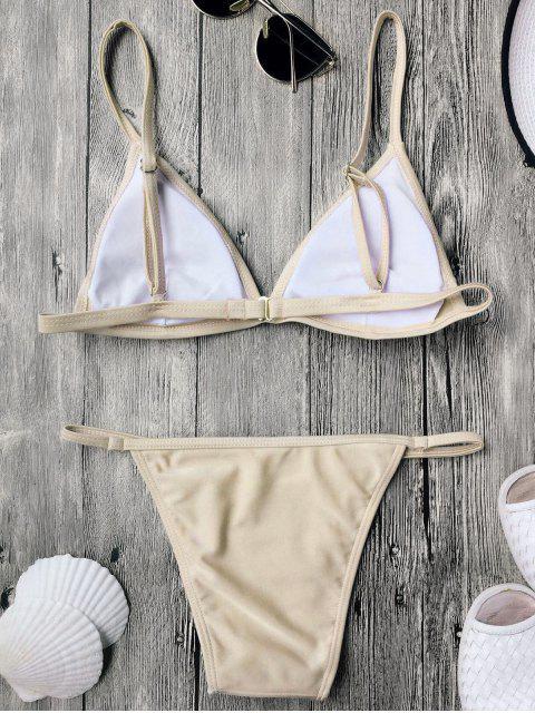 best Padded Spaghetti Straps Thong Bikini - COMPLEXION S Mobile