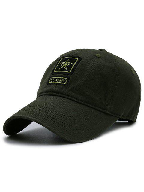 Armee Pentagram Element verschönert Baseball Mütze - Armeegrün  Mobile