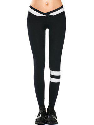 Activewear Two Tone Yoga Leggings