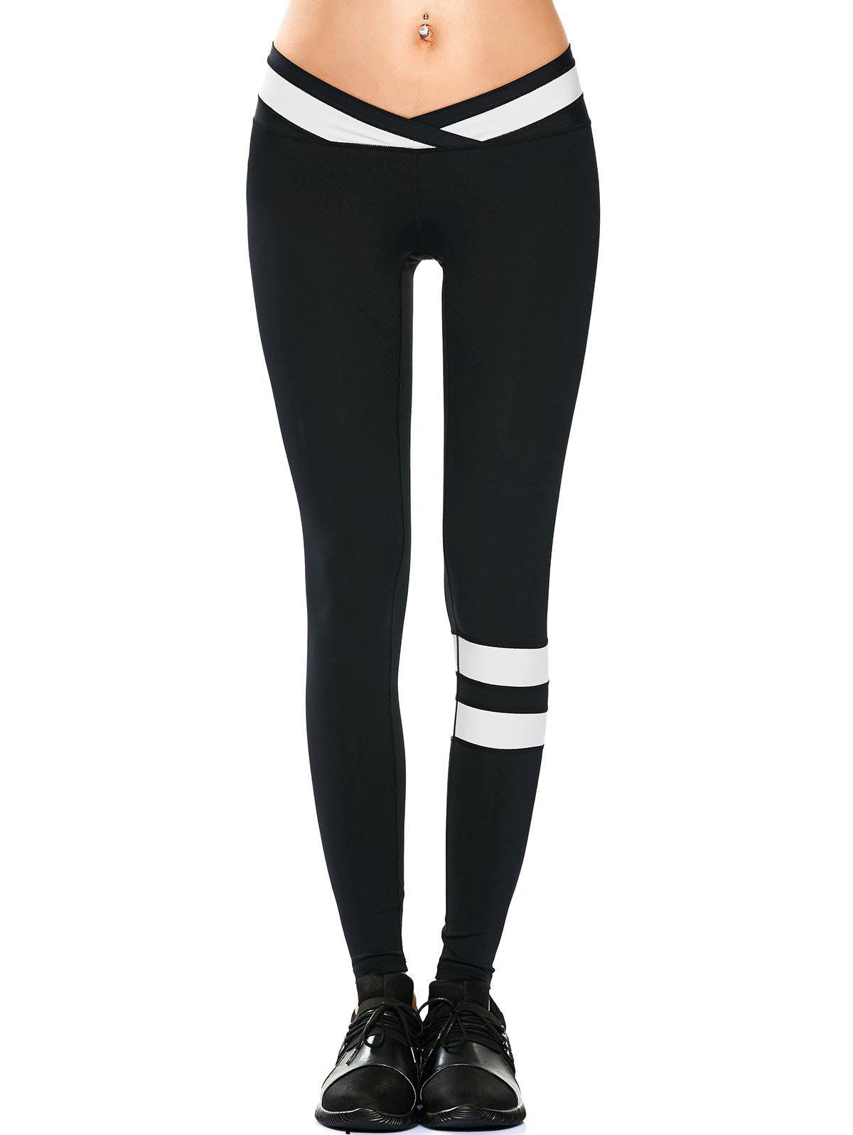 Activewear Two Tone Yoga Leggings 210926806