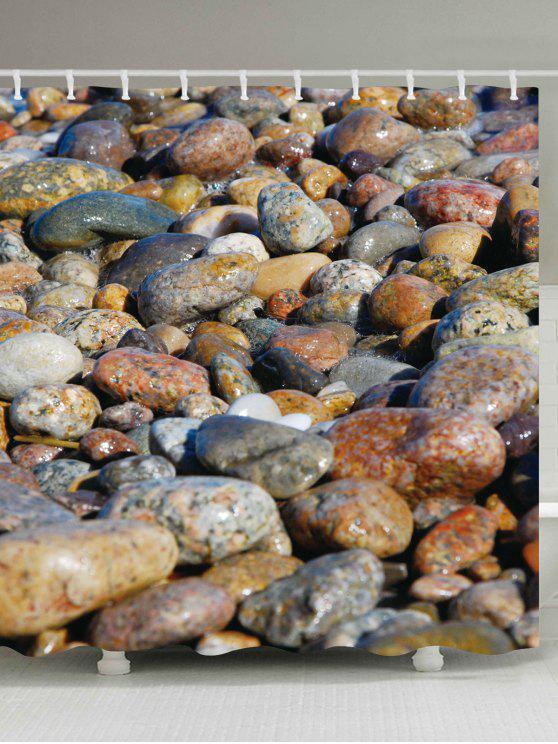 البحر ستون الحمام للماء دش الستار - Colormix W59 بوصة * L71 بوصة