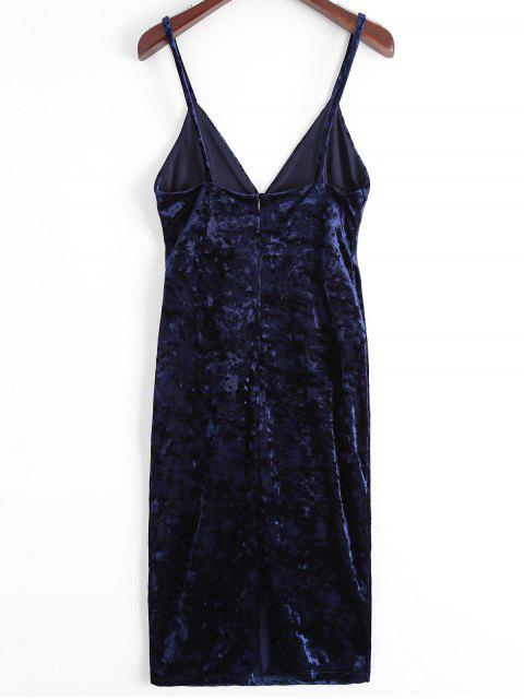 Robe mi-corsé - Bleu Violet XL Mobile