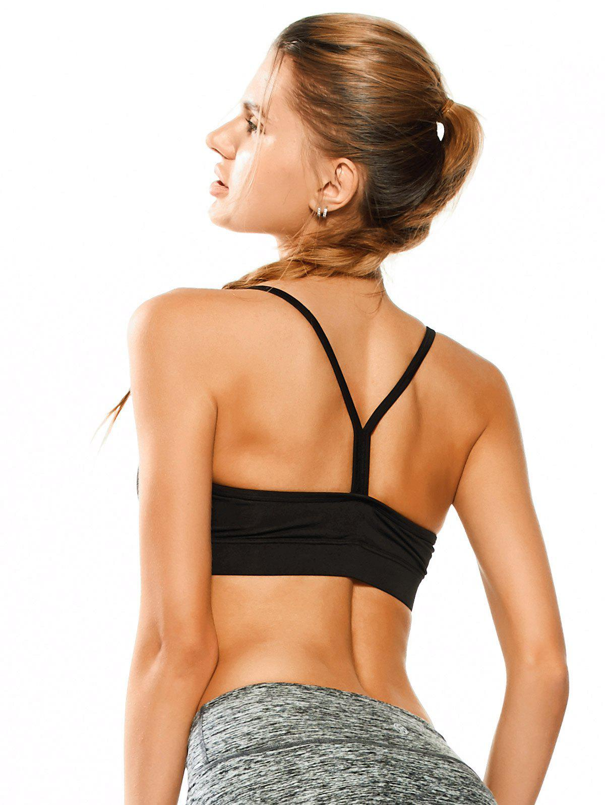 Padded Y Back Activewear Bra 211620302