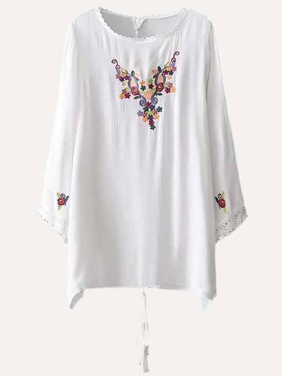 Robe courte en tunique décontractée