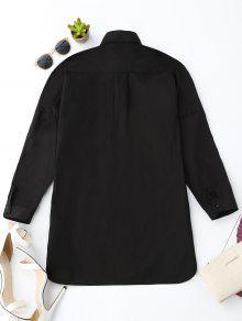 Novio Alto Pi De Negro S Del De La Camisa a Bolsillo T0AcqFFw8