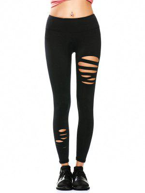 Collants déchirés Running Leggings Sports