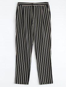 Pantalons à Rayures à Cigarettes - Rayure S