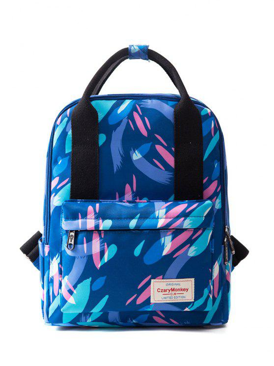 outfit Top Handle Print Backpack - COLORMIX