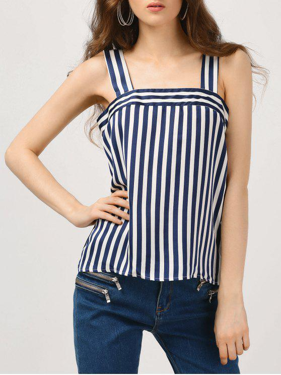 shops Straps Stripes Tank Top - STRIPE M