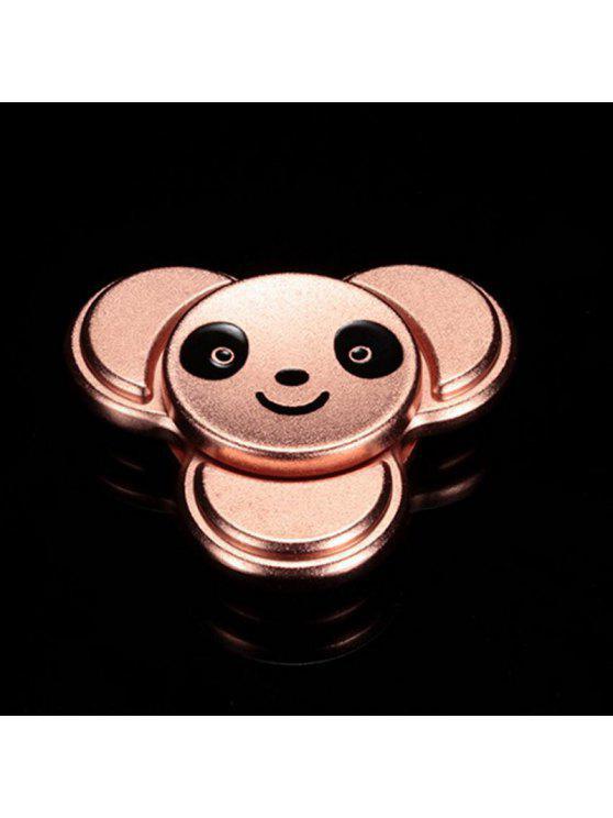 الباندا نمط المعادن فنجر الدوران الإجهاد الإغاثة لعبة - وارتفع الذهب 6 * 6CM