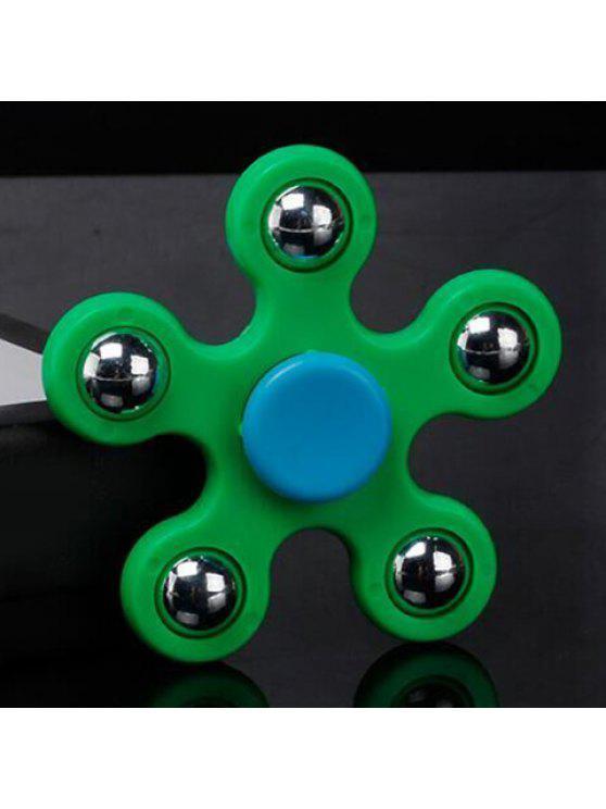 لعبة الإجهاد الإغاثة لعبة الصلب الكرة زينت فنجر الدوران - أخضر