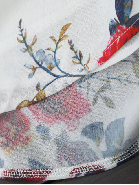 Chapeaux en mousseline de soie - Blanc S Mobile