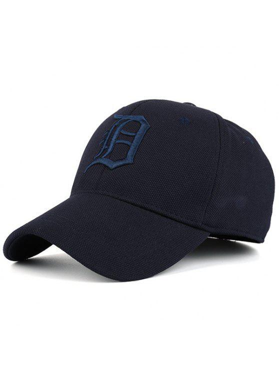 القوطية إلكتروني التطريز قبعة بيسبول - طالبا الأزرق