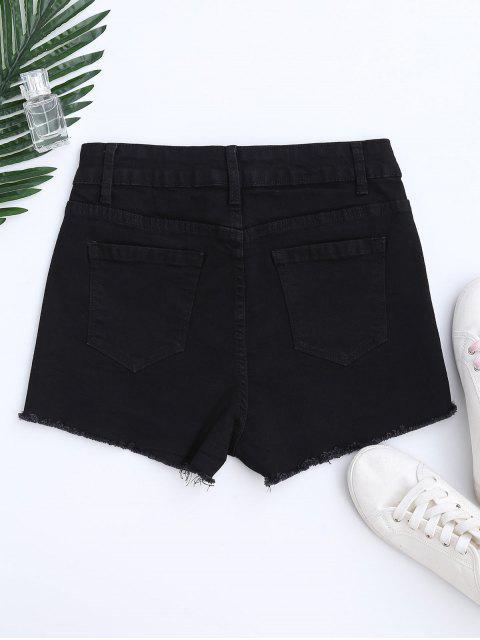 Short de coupure de couleur Shorts - Noir L Mobile