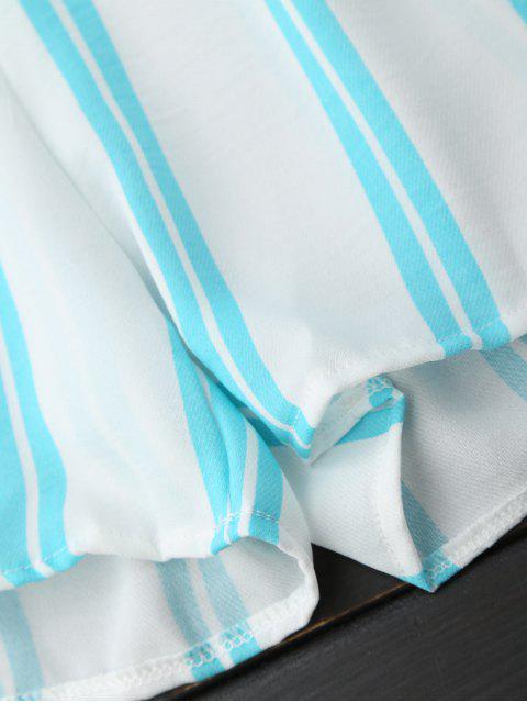 Robe rayée à l'épaule - Rayure XL Mobile