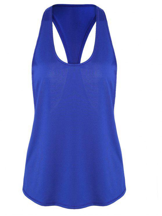 الرياضة راسيرباك تشغيل سترة - أزرق XL
