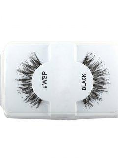 Crisscross Thick Long Extensions False Lashes - Black