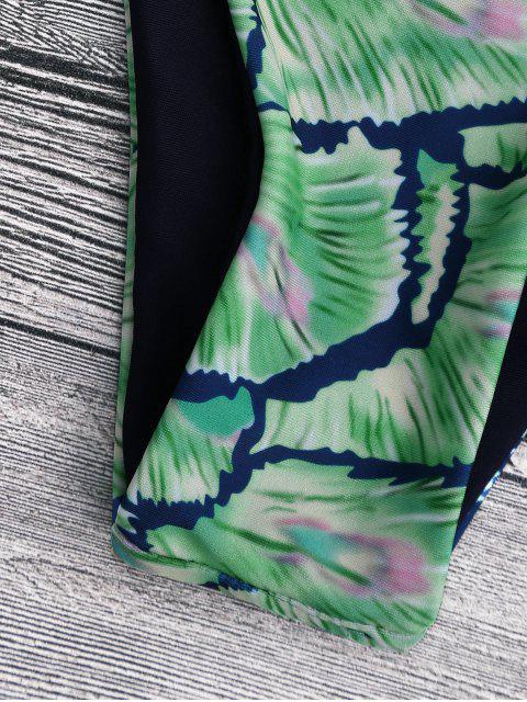 Bas de bikini style mixed - Vert S Mobile