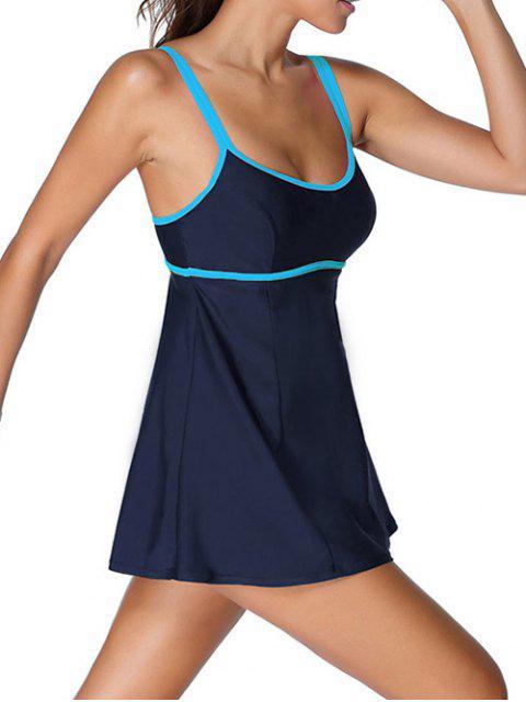 Bodysuit Cami Maillots de bain - Bleu Violet 3XL Mobile