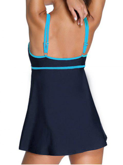 Bodysuit Cami Maillots de bain - Bleu Violet S Mobile