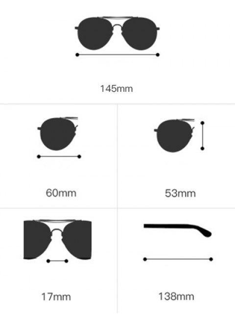 Lunettes de soleil verres ronds avec cadre ajouré en forme de œil de chat orné de strass - Noir et Gris  Mobile