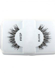 Crisscross Thick Long Extensions False Lashes - Negro