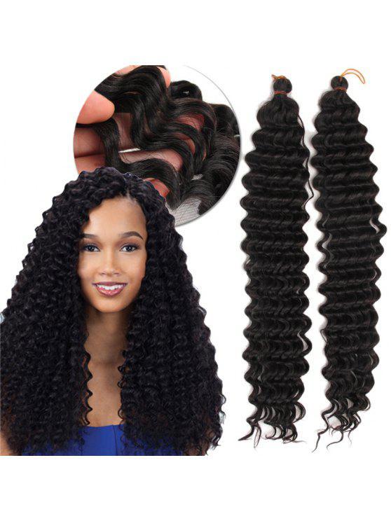 Pre Loop Wand Curl Crochet Hair Extensions Black Wigs Zaful