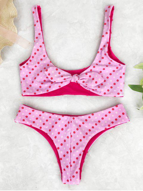 Juego de bikinis con cuchara de lunares - Rosa M Mobile