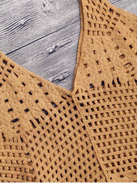 Cover up ajouré en crochet - Terreux TAILLE MOYENNE Mobile