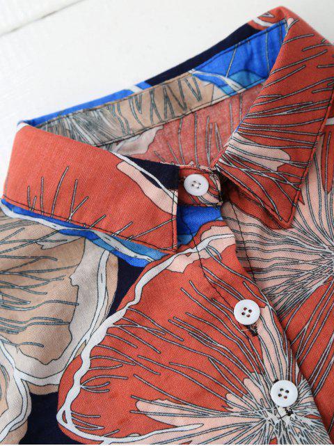 latest Floral Beach Shirt - COLORMIX XL Mobile