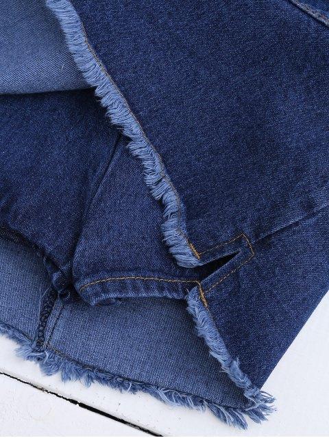 Jupe en doigt démaquillée - Bleu Foncé TAILLE MOYENNE Mobile