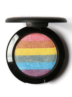 Paleta De Arco Iris Soft Shield Resplandor Mineral En Polvo