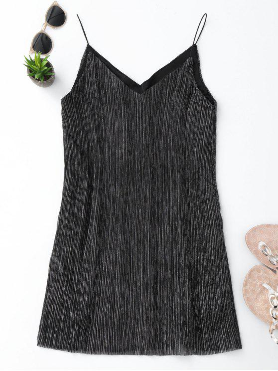 outfit See Through Glittered Club Dress - GRAY M