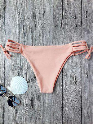 Banded Swim Bottoms - Pink S