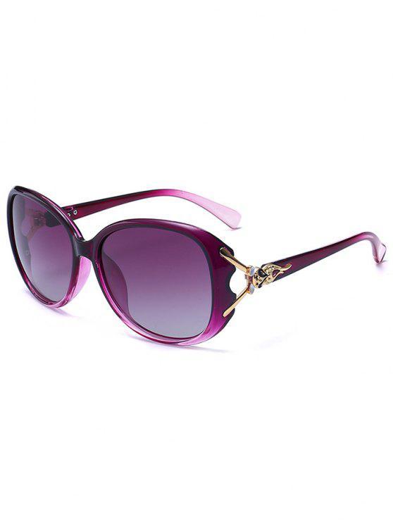 نحت المعادن البطانة النظارات الشمسية أومبير - أرجواني