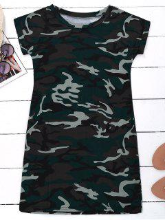 Robe T-shirt Camouflage