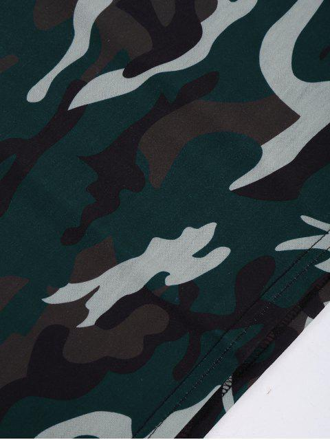 Robe t-shirt camouflage - Camouflage XL Mobile