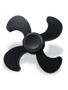 الإجهاد الإغاثة لعبة إدك المعادن فيدجيت الدوار - أسود 7 * 7 * 1.3cm