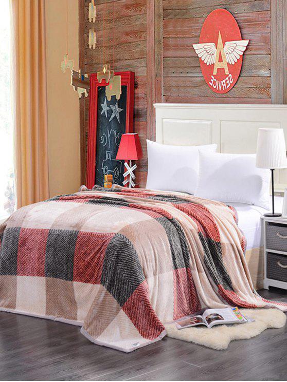منقوشة طباعة سوبر لينة أريكة قيلولة رمي بطانية - متعدد الألوان ممتلئ