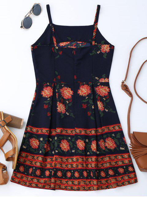online Cami Floral Summer Dress - COLORMIX S Mobile