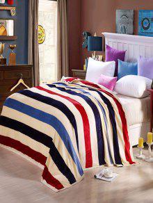 مخطط سوبر لينة أريكة قيلولة الفراش رمي بطانية - ممتلئ