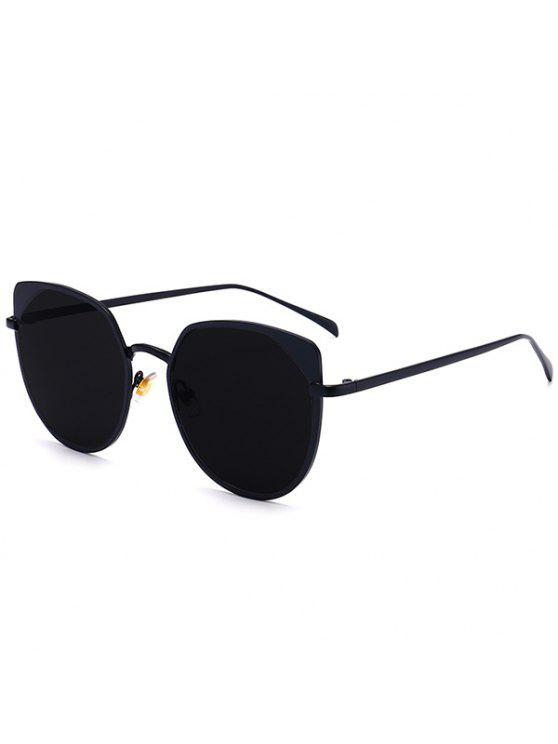 المعادن القط العين أوف حماية نظارات - أسود مزدوج