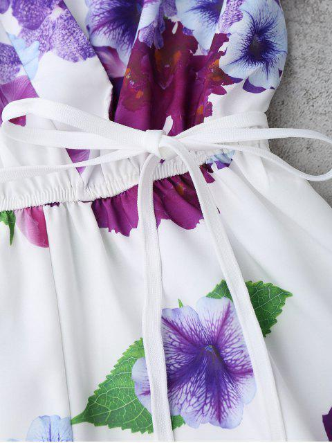 Surplus floral - Blanc S Mobile