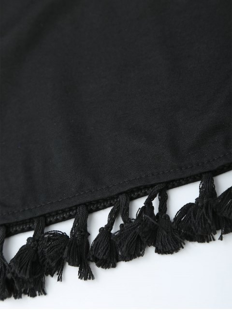 outfits Casual Tassels Mini Dre - BLACK S Mobile