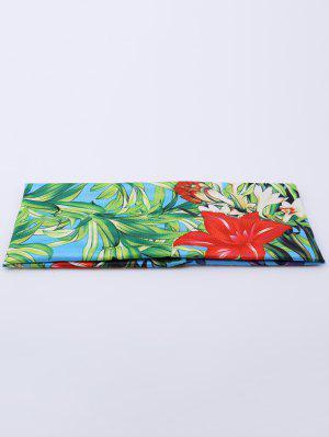Elastic Digital Inkjet Floral Sport Headband