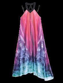 S 243;n Vestido Maxi Fluido De De Playa Vacaci Gasa De Pwx7Owz