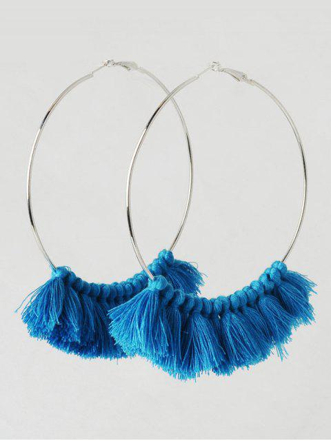Boucle d'oreille - Bleu  Mobile